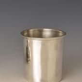 Antik bécsi ezüst pohár