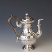 Ezüst antik bécsi barokk stílusú kanna
