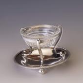 Antik bécsi ezüst fűszertartó