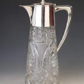 Ezüst kristály karaffa