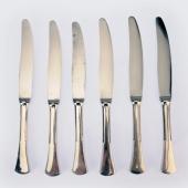 Ezüst angol fazonú nagy kések