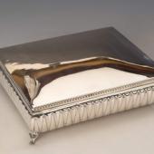 Ezüst nagyméretű doboz