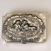 Ezüst barokk stílusú szelence